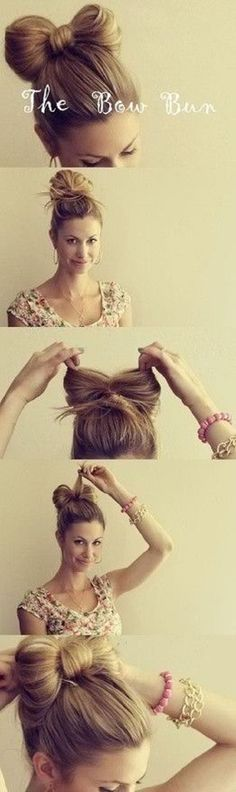 Bow Bun and 20 other hairstyles for nurses and therapists