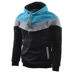 online shopping for Mooncolour Mens Novelty Color Block Hoodies Cozy Sport Outwear from top store. See new offer for Mooncolour Mens Novelty Color Block Hoodies Cozy Sport Outwear Oversized Fashion, Good Color Combinations, Hoodie Pattern, Men's Suits, Sewing Clothes, Men Clothes, Outerwear Jackets, Men's Jackets, Cool Outfits