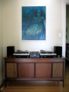 turntable setup
