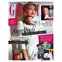 In this weeks Grazia:As Brangelina: The Movie is announced we speak exclusively to the man behind it all and discover Angelinas regrets over how she ended her marriage. Fashions denim directory has landed - from the catwalk to the streets from washed-out to indigo weve got the update on everyones favourite fashion staple. Plus say hello to yellow! The hottest hue of the season can be worn by anyone just let us show you howIn other news we speak to Meryl Streep Karlie Kloss and some of the…