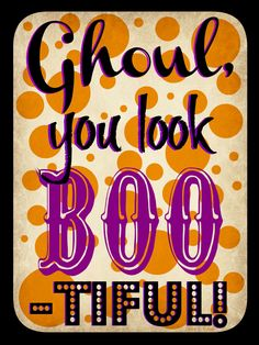 Halloween Printable~ Free, fun, cute, and clever!