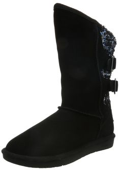 Skechers Women's Shelbys Boo Clay Boot, black *** See this great image  at Boots Shoes board