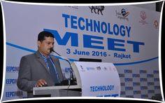 Mr Sudhakaran Nair, Sr.Asst. Director, EEPC INDIA at the Technology Meet