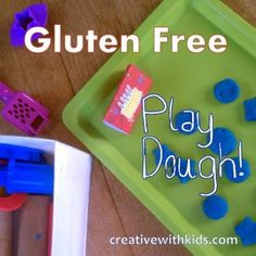 Gluten Free Play Dough Recipe