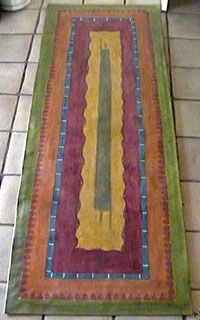 painted floor cloth Pricing: http://www.floorclothartpizzazz.com/pricing-table-floor-cloths.php