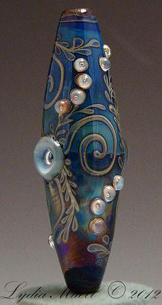 Eternal Bliss Lampwork Focal Bead by AshtonJewels on Etsy, $65.00