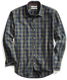 Dark Green Check Ben Sherman Boys Gingham Check Shirt Pine Grove 7Y-15Y