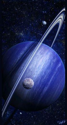 Planet and it's moons. #AmericanOnlineMiddleSchool #middleschool #astronomia