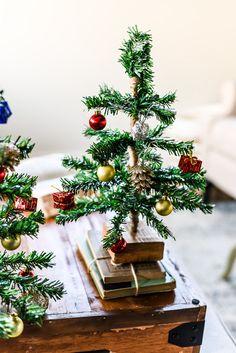 Tabletop Christmas Tree, Dollar Tree Christmas, Small Christmas Trees, Christmas Hacks, Christmas Crafts, Christmas Decorations, Dyi Decorations, Christmas Meme, Christmas Ornaments