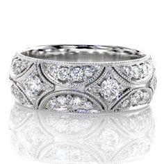 North Star Band - Knox Jewelers - Minneapolis Minnesota - Diamond Wedding Bands - Heirloom Band, North Star