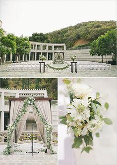 classy wedding ceremony decor