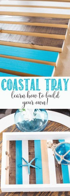 DIY Coastal Tray | Learn how to make your own | Try Building Plans