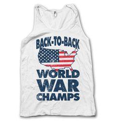 Back To Back World War Champs Tank!!! #USA