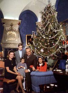 Princess Grace and Prince Rainier - Christmas in Monaco