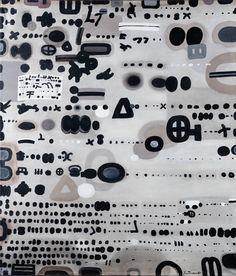 JAN TARASIN (1926 - 2009)  ZAPIS 81, 1981   olej, płótno / 114 x 98 cm  sygn. i dat. p.d.: Jan Tarasin 81