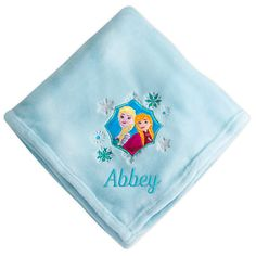 Anna and Elsa Fleece Throw - Personalizable | Disney Store