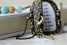Secret Door Necklace Personalized Necklace Antique by CaptureMyArt, $26.00