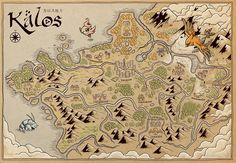 Kalos Map by MeleeNinja                                                                                                                                                      More