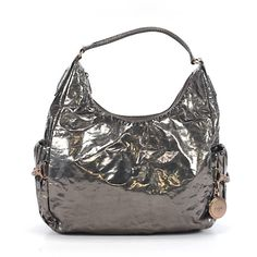 Pre-owned Botkier Hobo: Gray Women's Bags (165 CAD) ❤ liked on Polyvore featuring bags, handbags, shoulder bags, grey, shoulder handbags, grey handbags, hobo hand bags, grey hobo handbags and man bag