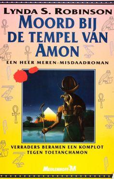 Moord bij de tempel van Amon - Lynda S. Robinson