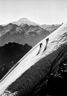 Heckel was a mountaineer as well. Central Asia, Green Grass, Asia Travel, Mount Rainier, Mountains, Grasses, Photography, Blanco Y Negro, Fotografia