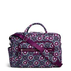 Image of Iconic Weekender Travel Bag in Lilac Medallion