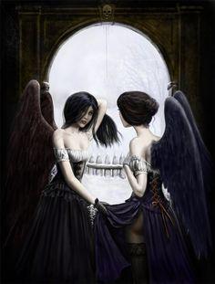 Meeting of the Dark Angels: Gord Napier artist.. col by *dashinvaine on deviantART