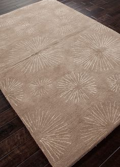 JAIPUR : Show Product Description - Rug - This is really cute in person and very affordable