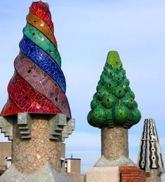Amazing Buildings - the Palau Güell in Barcelona by Antoni Gaudi. - found on chimneylinerpro.com