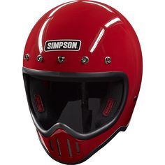 M50 Motorcycle Helmet: Simpson Race Products