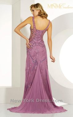 MNM Couture 7731 Lilac backview