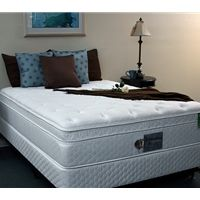 Sterling Sleep 8500 Euro Top Waveless Softside Waterbed Mattress