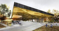 SMEC Soccer Complex by Saucier + Perrotte & Hughes Condon Marler Architects.