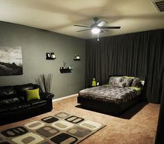 Bedroom Colors Decor young men bedroom colors | awesome men's bedroom ideas | ds room