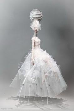 Popovy Sisters – Art dolls by Popovy Katya & Lena Wedding Doll, Wedding Art, Popovy Sisters, Enchanted Doll, Neon Glow, Doll Repaint, Little Doll, Doll Crafts, Bjd Dolls