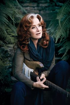 Bonnie Raitt | blues singer, songwriter and slide guitar player. Raitt has received 10 Grammy Awards. She is listed as number 50 in Rolling Stone magazine's list of the 100 Greatest Singers of All Time and number 89 on their list of the 100 Greatest Guitarists of All Time.