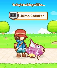 """The number """"129"""" on the Jump Counter in Magikarp Jump is not random: it's Magikarp's Pokédex number!"""