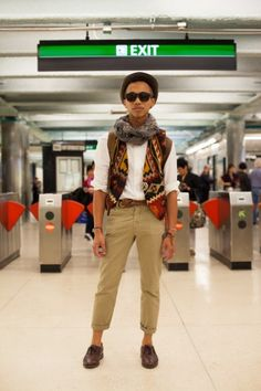 22 stylish snaps from SF public transport. Photos by Anna-Alexia Basile.