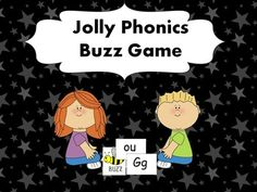 A great game for practicing all the Jolly Phonics Sounds!