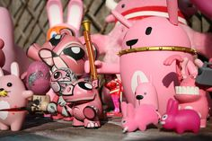 Pink toys!