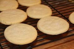 Old fashioned, authentic southern tea cakes are basic, simple sugar cookies in their list of ingredients - butter, sugar, flour and eggs ...