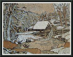 мозаика из яичной скорлупы - 5 827 картинок. Поиск Mail.Ru