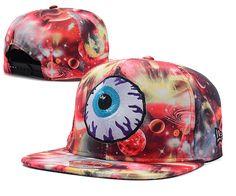 Mishka Galaxy Keep Watching Snapback Hats