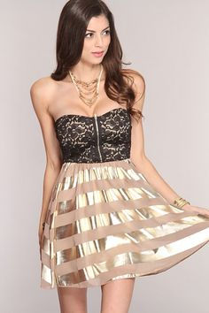 Beige Multi Two Tone Sexy Party Dress