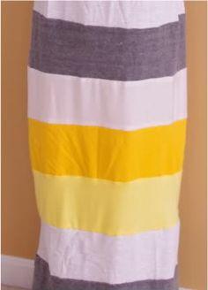 SewPetiteGal: Make Your Own Stripes Colorblocked Maxi Dress Tutorial