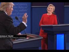 El temple de Clinton choca contra el pesimismo de un Trump a la defensiva
