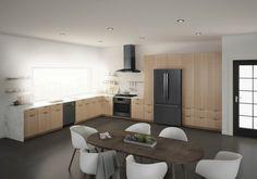 Bosch Introduces Black Stainless Steel Kitchen Appliances | Builder Magazine | Design, Products, Kitchen, Appliances, Steel, Housing Trends, Remodeling Trends, Durability, Appliance, Color, Bosch, Bosch Home Appliances #HomeAppliancesStainlessSteel