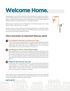 Welcome Home! The BrightNest New Homeowner Guide - Free Printable.