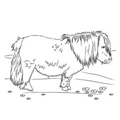 Friesian Horse Coloring Page Horse Crafts Horse Coloring Pages