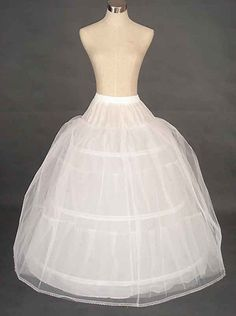 Weddings & Events Cheap Wedding Formal Dress Pannier Yarn 3 Wire 1 Hard Network Petticoat